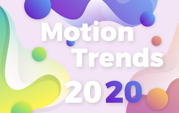 Motion graphic and design trends for 2020