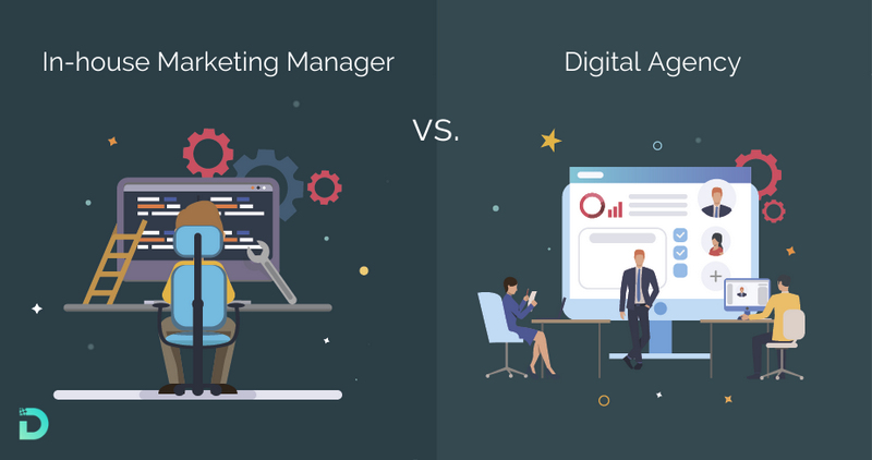 In-house Marketing Manager vs. Digital Marketing Agency - which one is better to hire?
